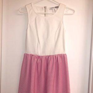 💫pink gingham brunch dress